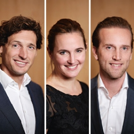 Young Captains in crisistijd: Eric Jones, Nicoline van Leersum en Dustin Woodward