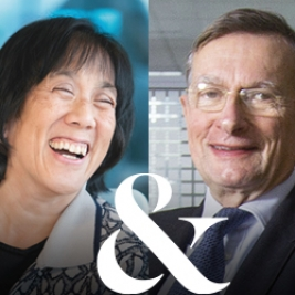 Christine Poon en Jeroen van der Veer (Philips) over de internationale board