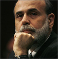 Ben Bernanke's pokerface
